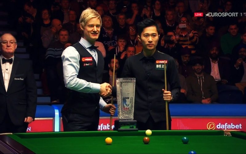 Decider: Neil Robertson vs Cao Yupeng (Final) Scottish Open 2017