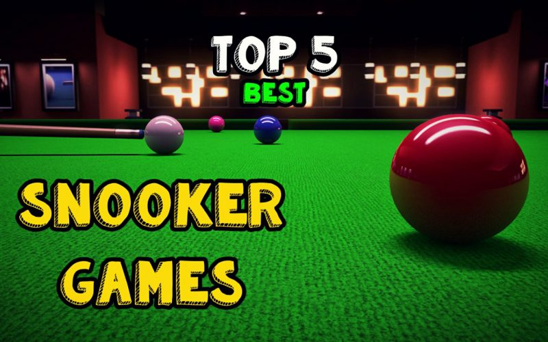 TOP 5 BEST SNOOKERS GAMES