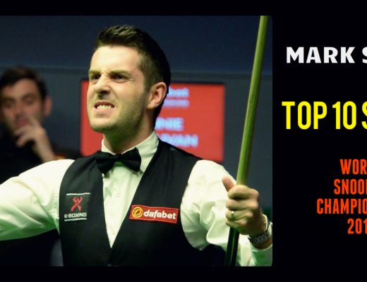 Mark Selby - TOP 10 SHOTS | World Snooker Championship 2017