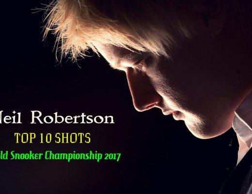 Neil Robertson - TOP 10 SHOTS